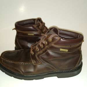Rockport Hydro-Shield Waterproof leather boots!